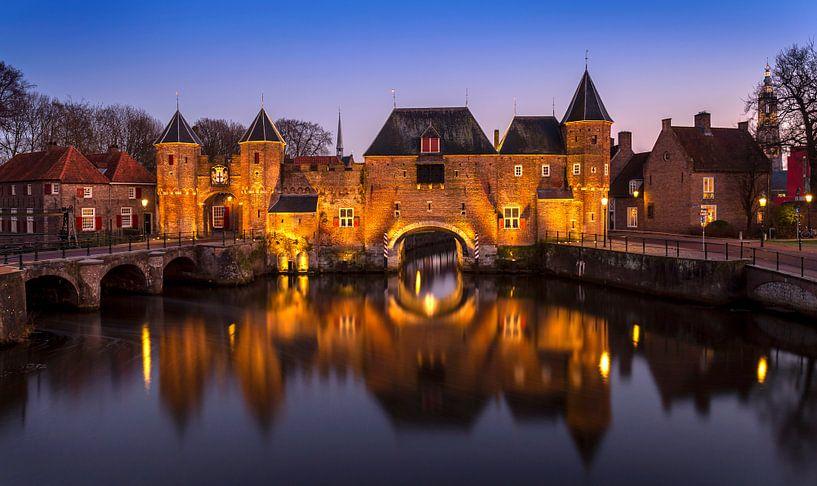 Koppelpoort Amersfoort, Nederland van Adelheid Smitt