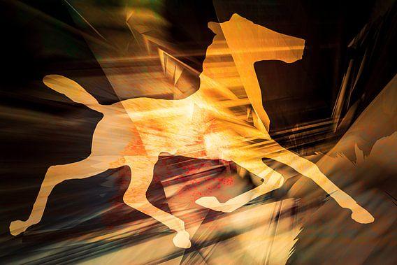 Lichtpferd van Holger Debek