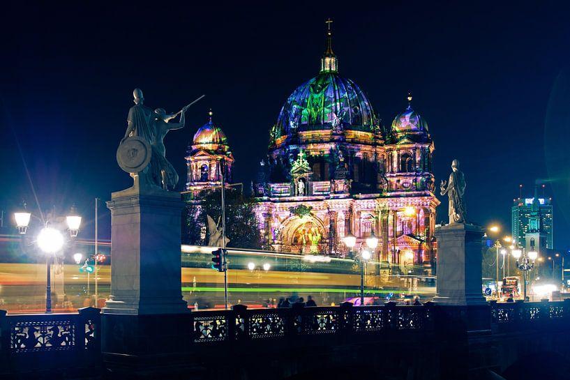 Berlin Cathedral – Festival of Lights van Alexander Voss