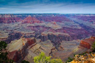 Grand Canyon vanaf de South Rim, VS van Rietje Bulthuis