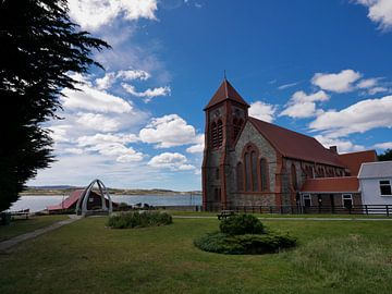 Kerk in Stanley (falklands) von Remco van Kampen