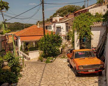 Authentiek Grieks dorpje van Marjolein van Middelkoop