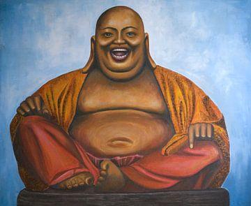Budai - Der lachende Buddha von Caroline Hamer