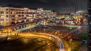 Strijp-S bij nacht van Maarten Cornelis