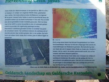 Informatiebord Celtic fields van Wilbert Van Veldhuizen