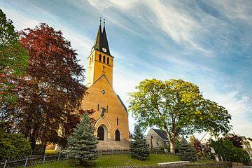 Kirche / Gebäude/ Landschaft im Erzgebirge von Johnny Flash