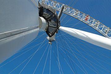 Detail van the London Eye. van Maurice Welling