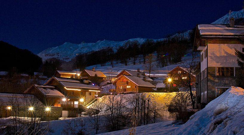 Nachtfotografie Les Allues - Les Trois Vallées, Franrijk van Be More Outdoor