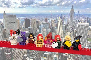 Lunch atop a skyscraper Lego edition - Super Heroes - Women - New York van