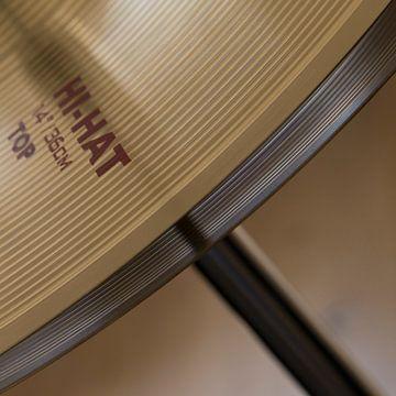 Drumstel | hi-hat III van Maren Oude Essink