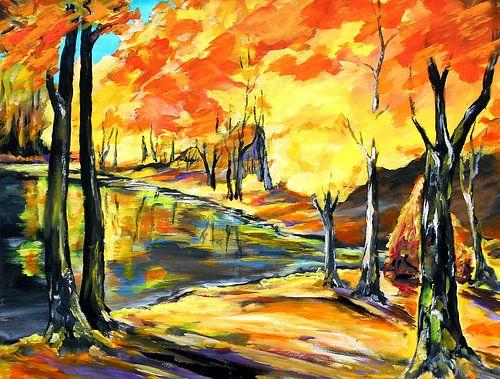 Herbstwald von