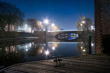 Den Bosch by night van Emmory Schröder