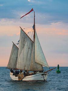 Sailing ship on the Baltic Sea