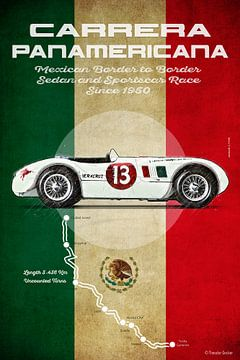 Carrera Panamericana Vintage J van Theodor Decker