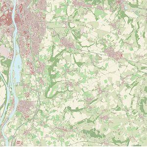 Kaart vanEijsden-Margraten