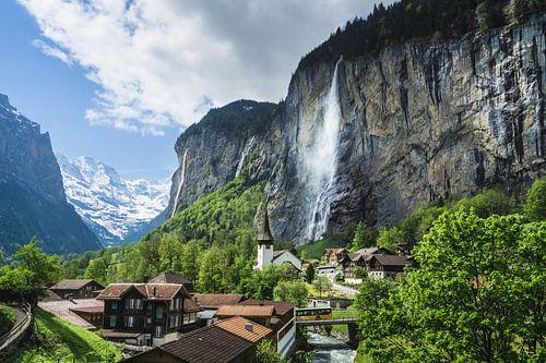 Staubbach Watervallen van
