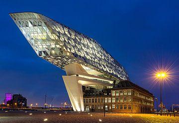 Hafengebäude Antwerpen, Belgien von Adelheid Smitt