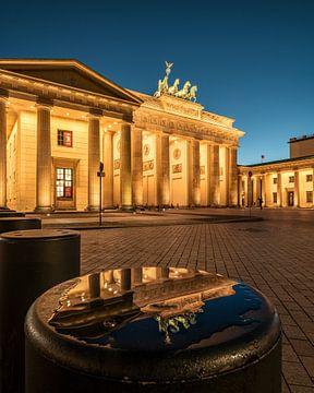 Brandenburger Tor Spiegelung von Stefan Schäfer