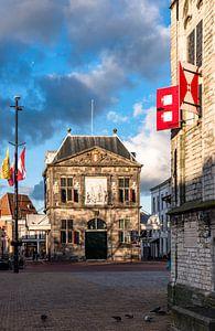 De Waag in Gouda in Nederland van