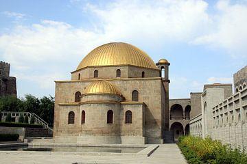 De moskee van Rabati fort in Georgië. van