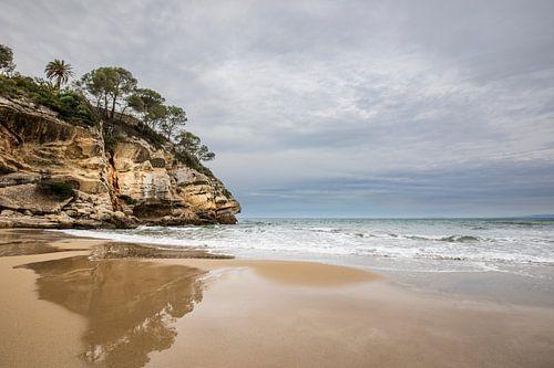 Donkere wolken over de Spaanse costa van