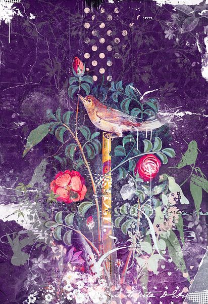 Pompeji-Vogel von Teis Albers