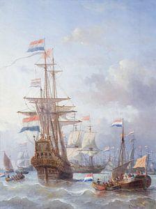 De tocht naar Chatham, Everhardus Koster