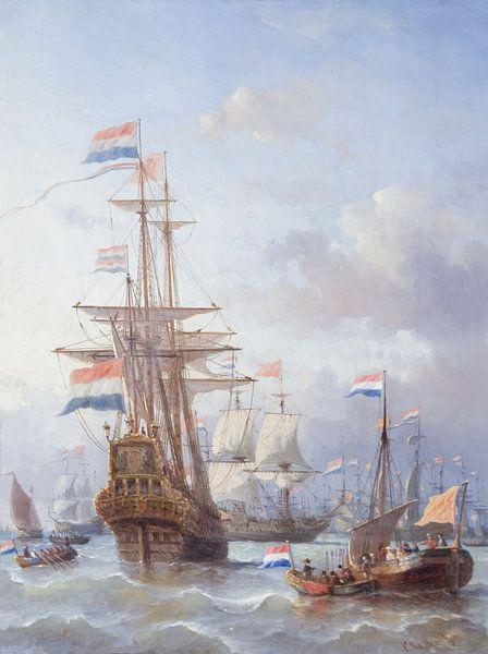De tocht naar Chatham, Everhardus Koster van Meesterlijcke Meesters