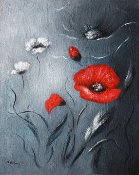 Red Poppy van Marita Zacharias