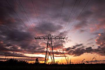 Electrifying sunset