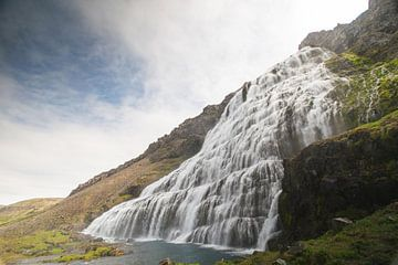 Dynjandi-Wasserfall von Manon Verijdt