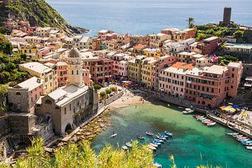 Vernazza, Cinque Terre, Italie sur Jeroen Nieuwenhoff