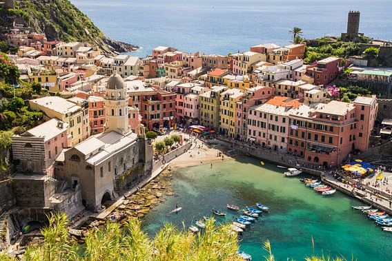 Vernazza, Cinque Terre, Italie van Jeroen Nieuwenhoff