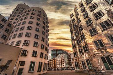 Medienhafen Düsseldorf 2 von Johnny Flash