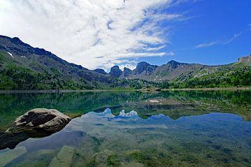 Het bergmeer Lac d'Allos van Discover Dutch Nature