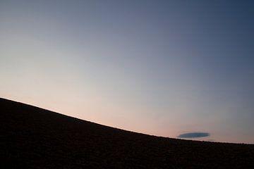 Wolkje. Heuvel. Toscane. van Rens Kromhout