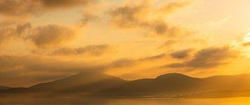 Zonsopgang in Sardinië van Damien Franscoise