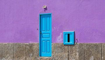 Oude deur sur Bas Glaap