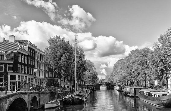 Brouwersgracht in Amsterdam. von Don Fonzarelli