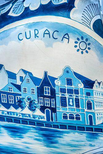 Delfts blauw - Handelskade Curacao