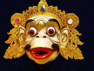 Masque Barong Singe sur Eduard Lamping