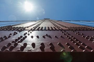 Klinknagels detail Golden gate bridge van Yannick uit den Boogaard