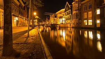 Alkmaar in de nacht 3-9-2017 van Elmar Marijn Roeper