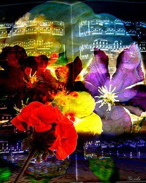 Florale Töne van Gertrud Scheffler