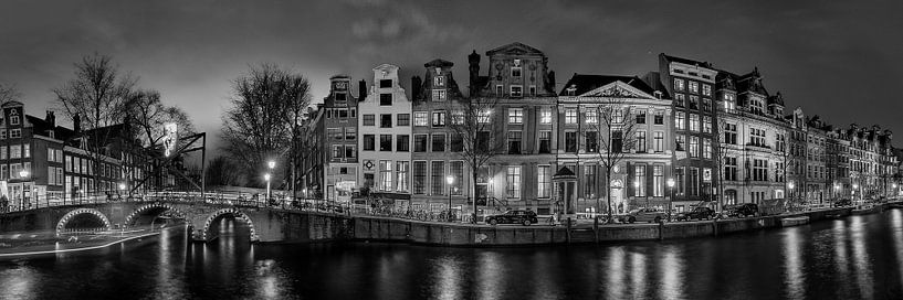 Panorama Herengracht Leidsegracht van Ardi Mulder
