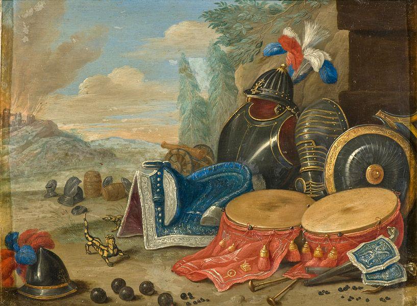 Embleme des Krieges, Jan van Kessel von Meesterlijcke Meesters
