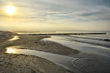 Sunset in Zingst sur Claudia Moeckel