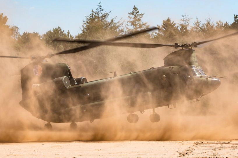 Chinook-Hubschrauber von Kris Christiaens