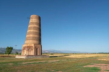 Burana-Turm in Kirgisistan von Mickéle Godderis