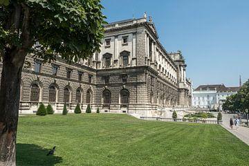 Hofburg Keizerlijk paleis in Oostenrijk Wenen van Raymond Schrave